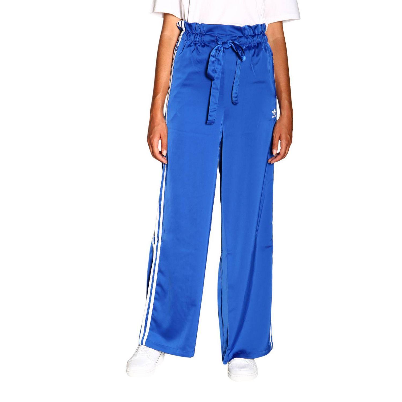 裤子 Adidas Originals: 裤子 女士 Adidas Originals 皇家蓝 1