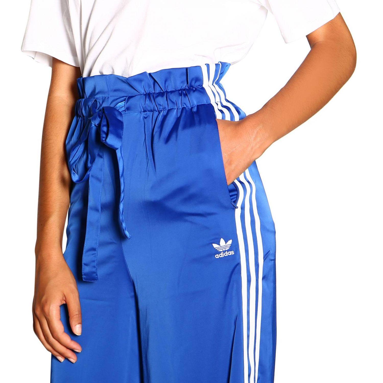 裤子 Adidas Originals: 裤子 女士 Adidas Originals 皇家蓝 5