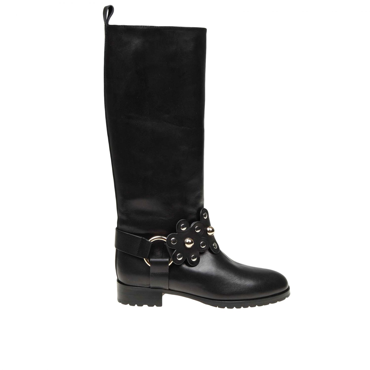 Boots women Red(v) black 1