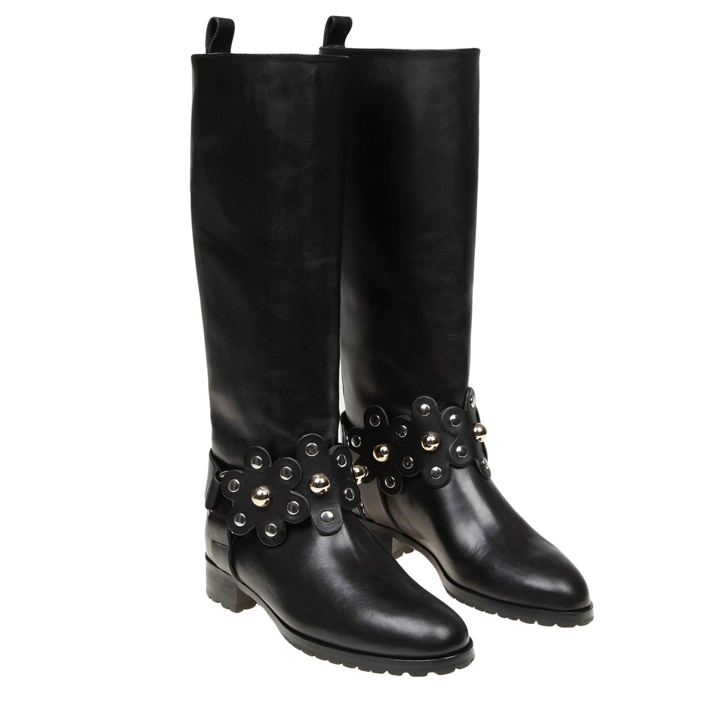 Boots women Red(v) black 2