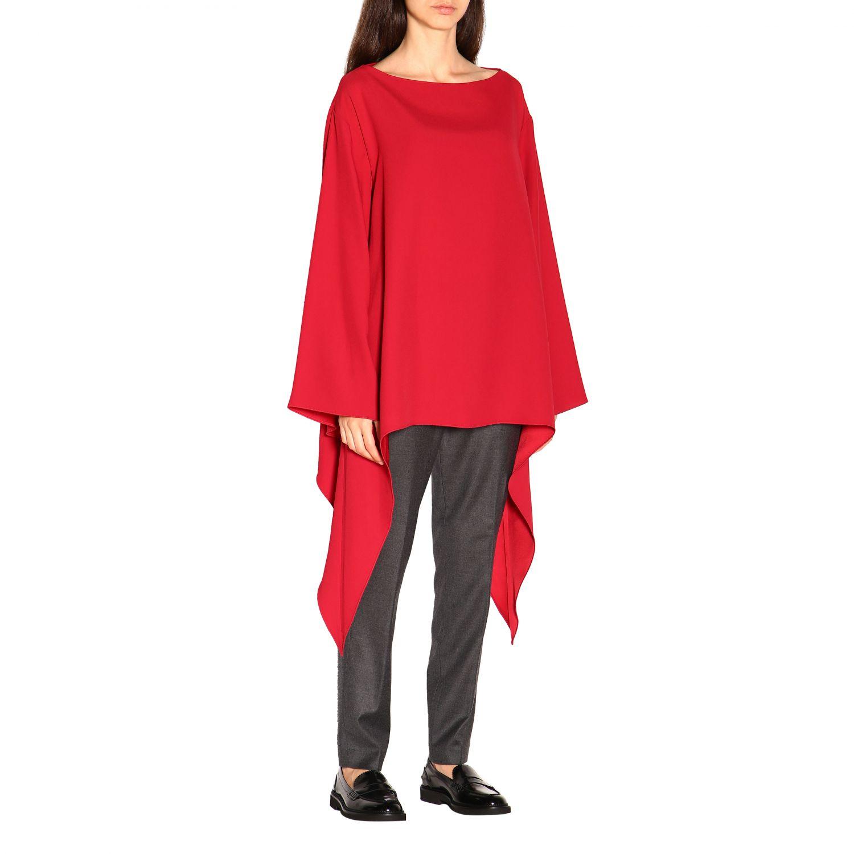 Cloak Alberta Ferretti: Top women Alberta Ferretti red 1
