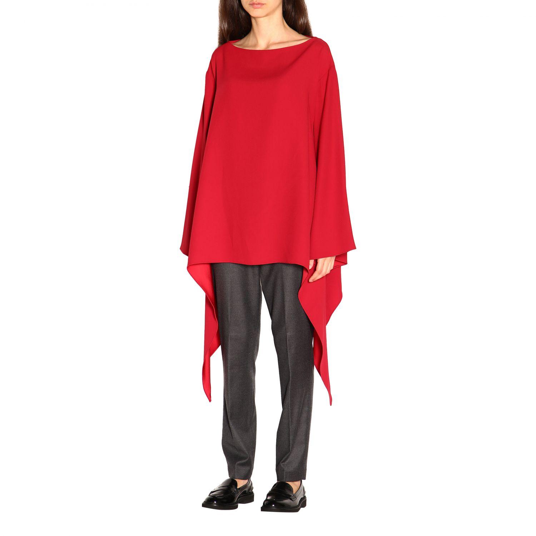 Cloak Alberta Ferretti: Top women Alberta Ferretti red 3