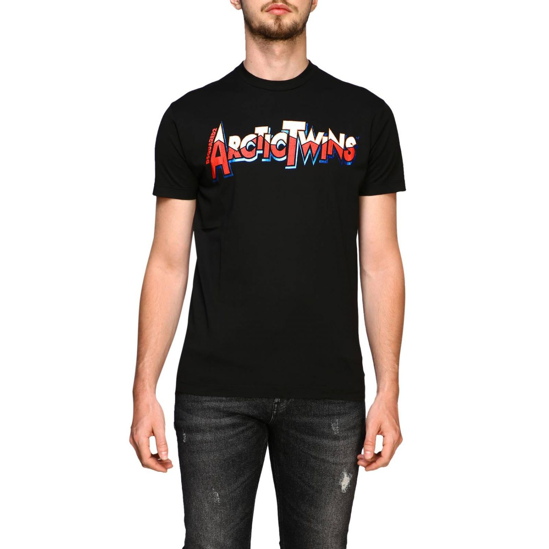 T恤 男士 Dsquared2 黑色 1