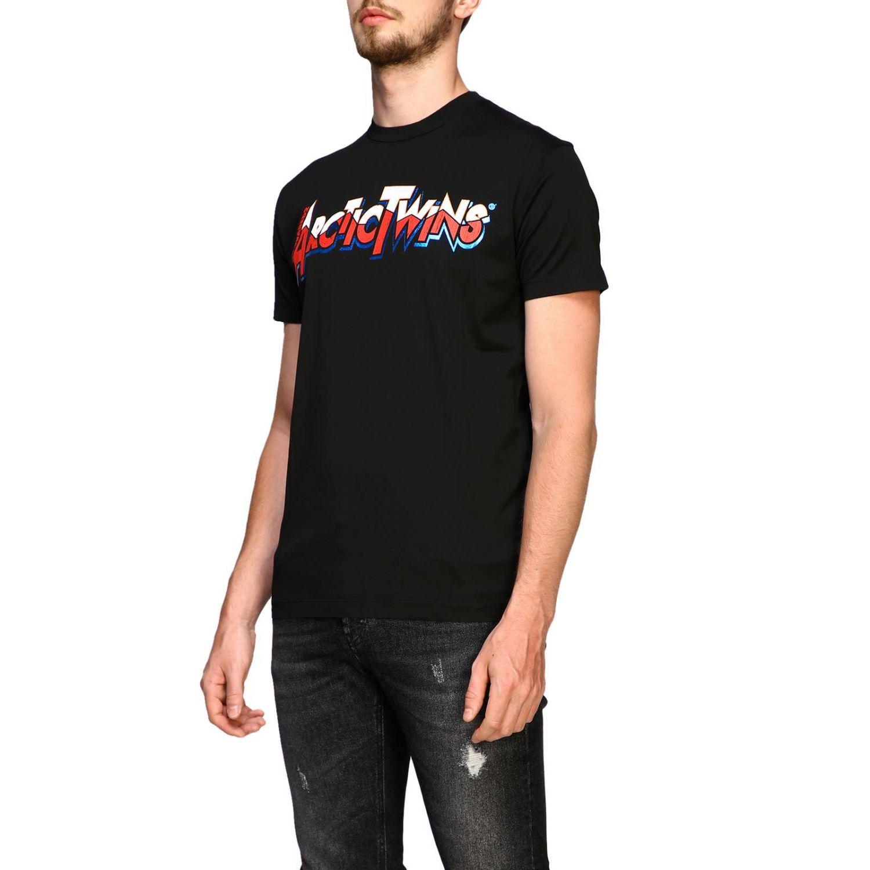 T恤 男士 Dsquared2 黑色 4