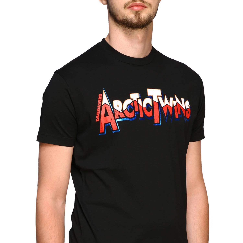 T恤 男士 Dsquared2 黑色 5