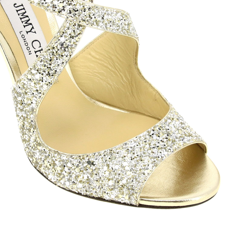 Sandales à talons femme Jimmy Choo champagne 3