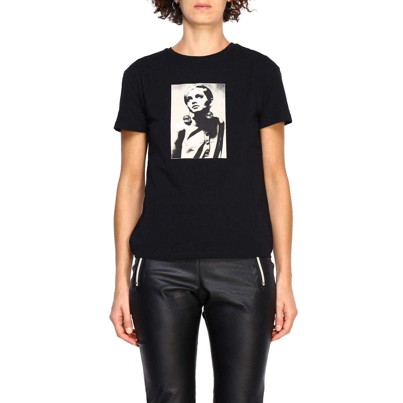 T-shirt women Kaos black 1