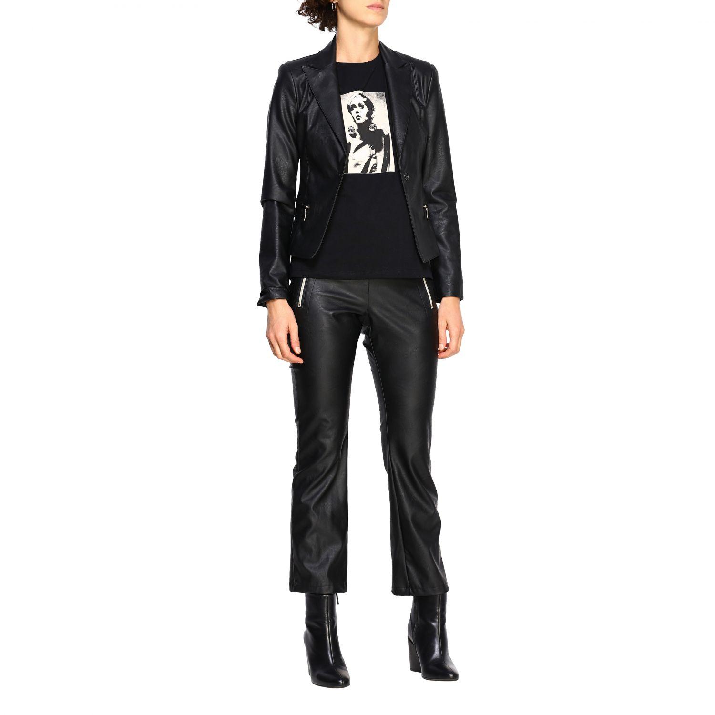 T-shirt women Kaos black 2