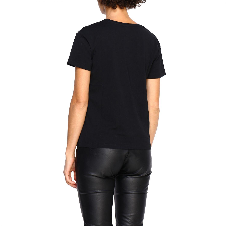 T-shirt women Kaos black 3