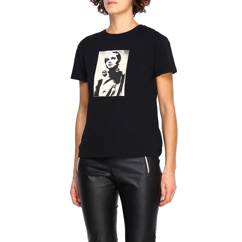 T-shirt women Kaos black 4
