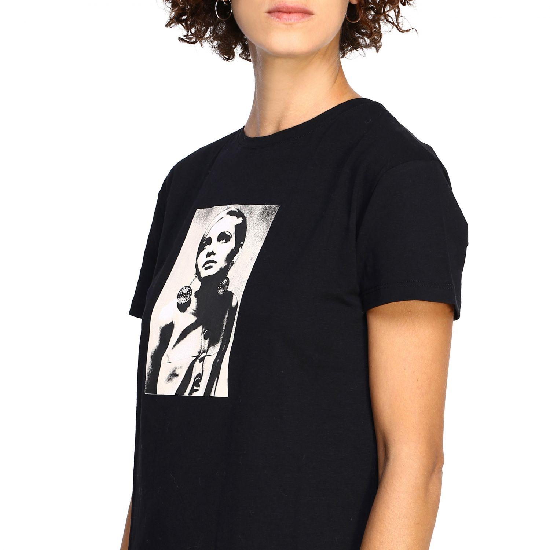 T-shirt women Kaos black 5