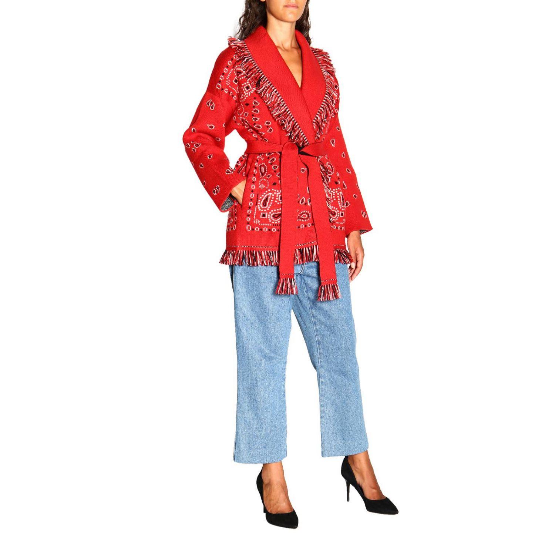 针织开衫 Alanui: 毛衣 女士 Alanui 红色 2