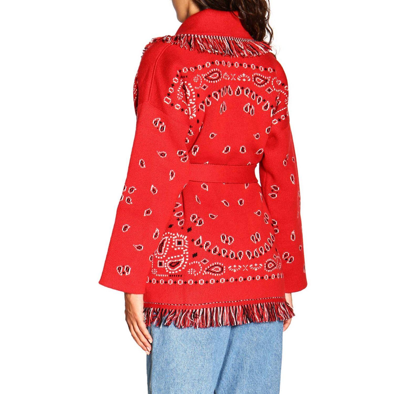 针织开衫 Alanui: 毛衣 女士 Alanui 红色 3