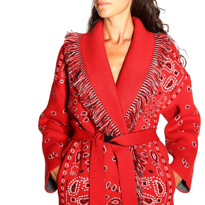 针织开衫 Alanui: 毛衣 女士 Alanui 红色 5