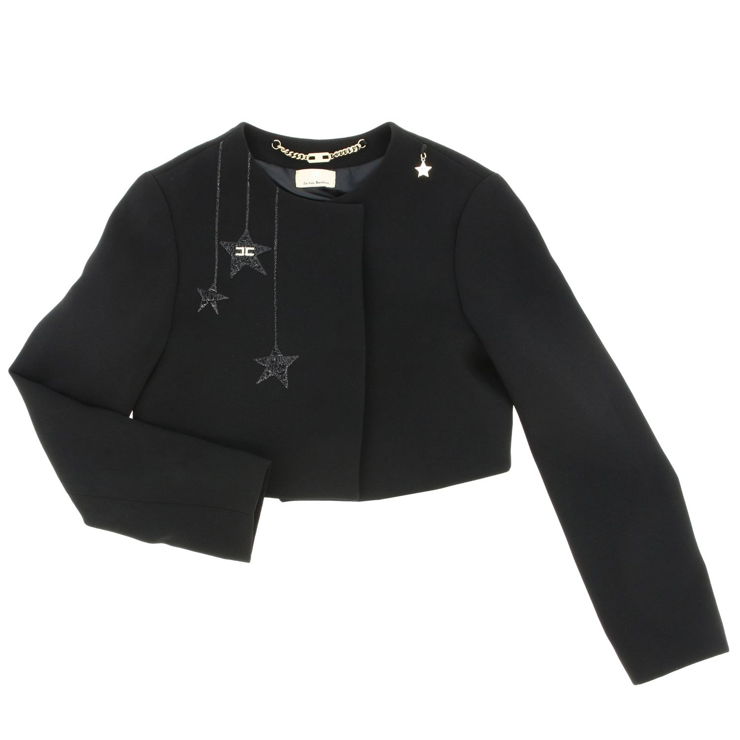 Jacket kids Elisabetta Franchi black 1