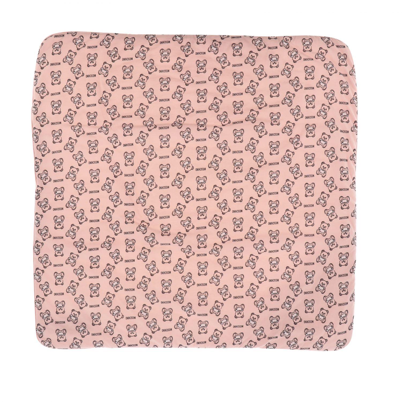 Blanket kids Moschino Baby pink 2