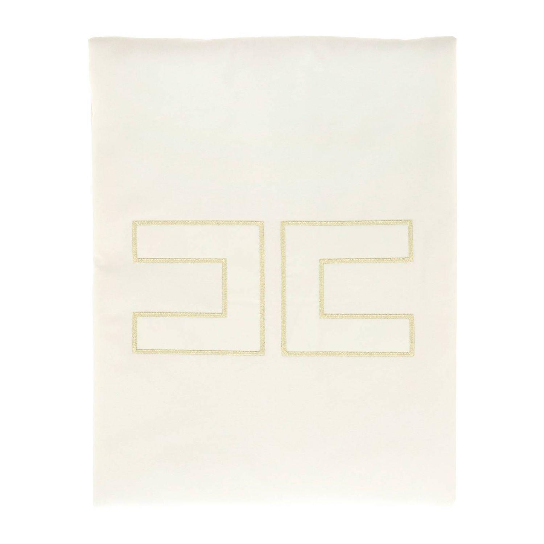 Blanket kids Elisabetta Franchi ivory 1