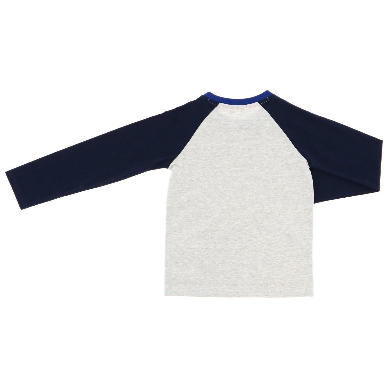 Camiseta niños Billybandit gris 2