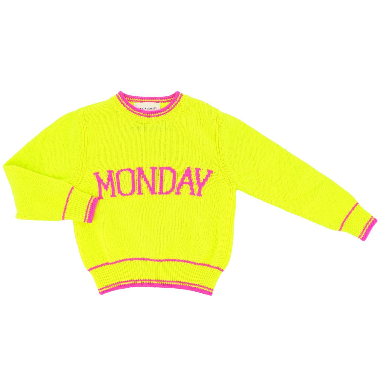 Свитер Alberta Ferretti Junior: Свитер Детское Alberta Ferretti Junior желтый 1