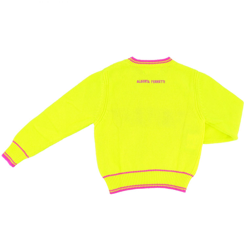 Свитер Alberta Ferretti Junior: Свитер Детское Alberta Ferretti Junior желтый 2