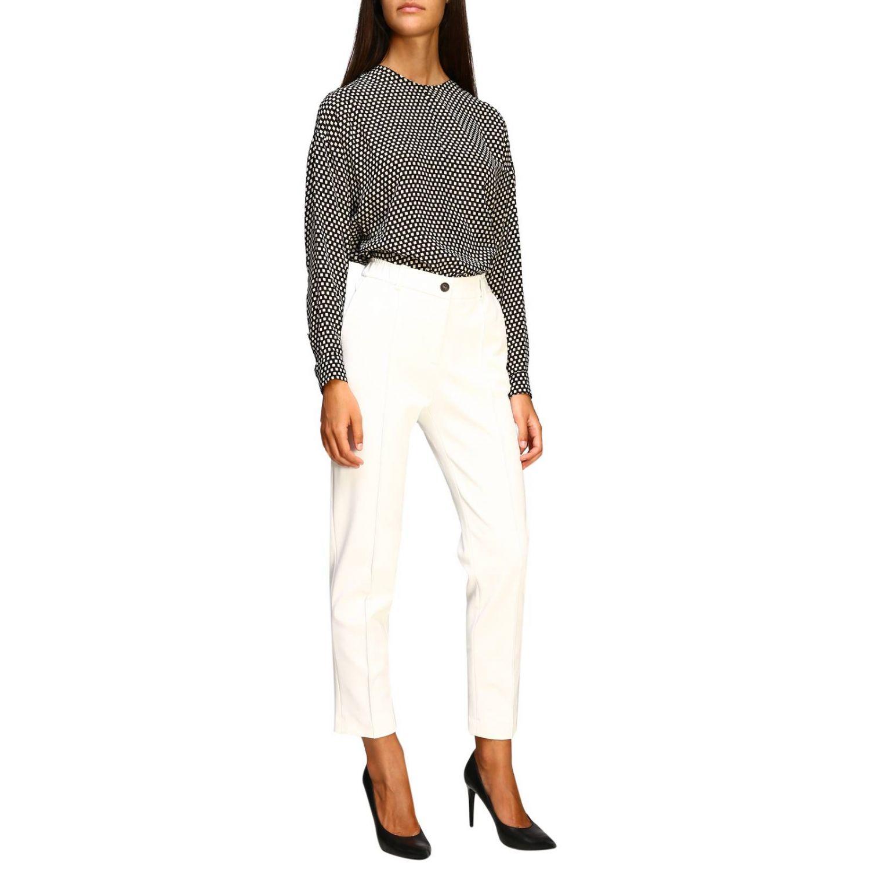 Pantalone donna Alysi panna 2