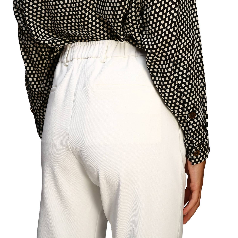 Pantalone donna Alysi panna 5