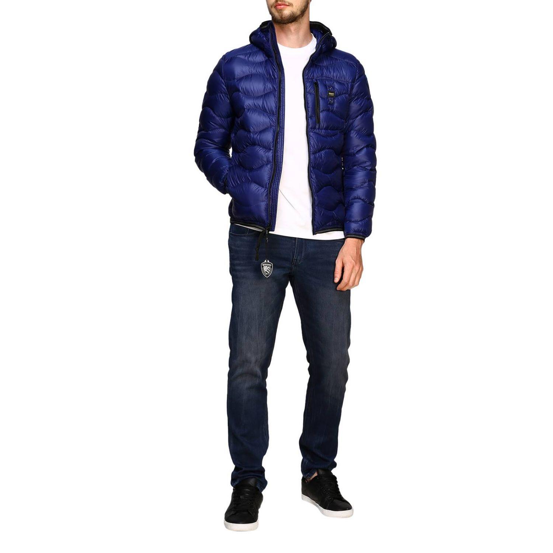 Jacket men Blauer blue 2