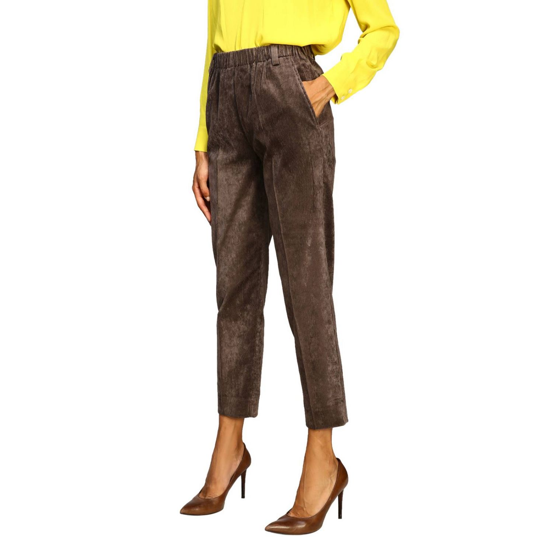 Pantalon femme Antonelli marron 4