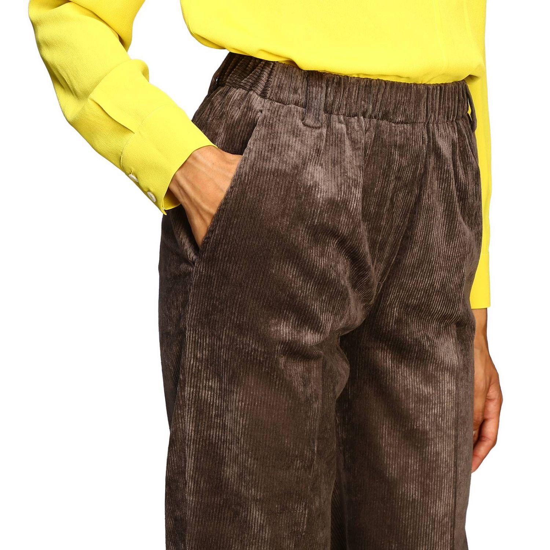 Pantalon femme Antonelli marron 5