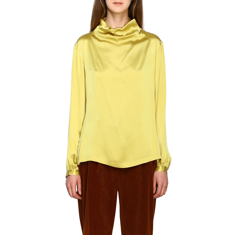 Chemise femme Antonelli jaune 1