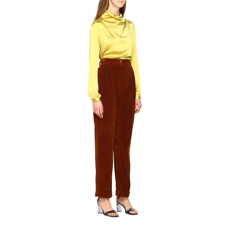 Chemise femme Antonelli jaune 2