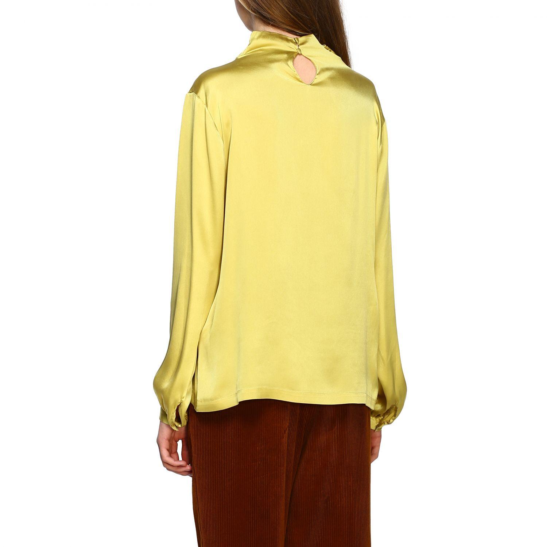 Chemise femme Antonelli jaune 3