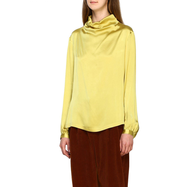 Chemise femme Antonelli jaune 4