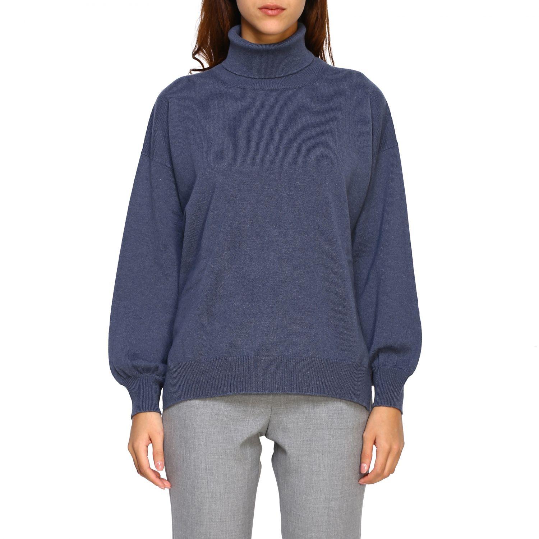 Sweater women Peserico grey 1
