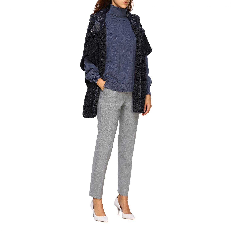 Sweater women Peserico grey 2