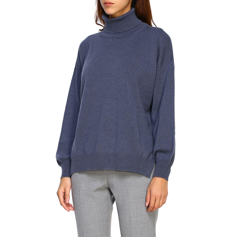 Sweater women Peserico grey 4