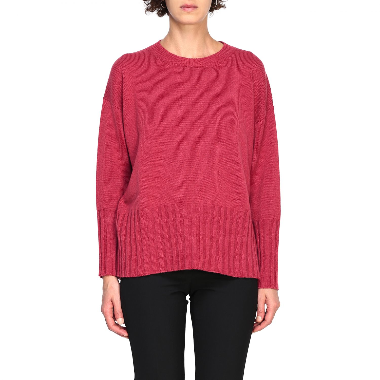 Sweater women Peserico amaranth 1