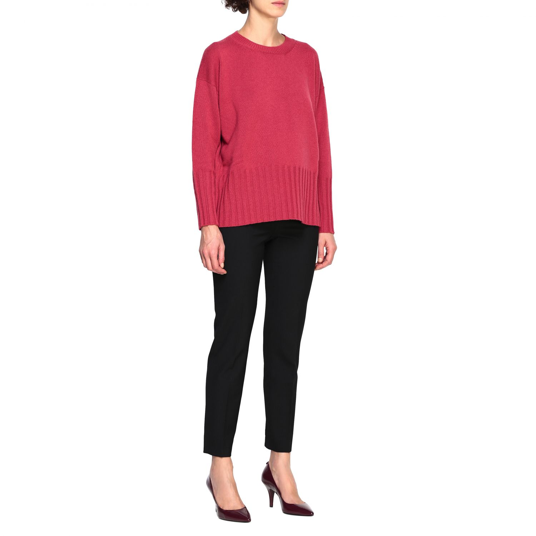 Sweater women Peserico amaranth 2