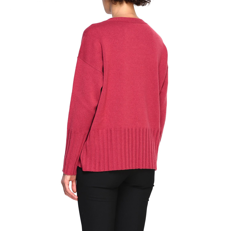 Sweater women Peserico amaranth 3