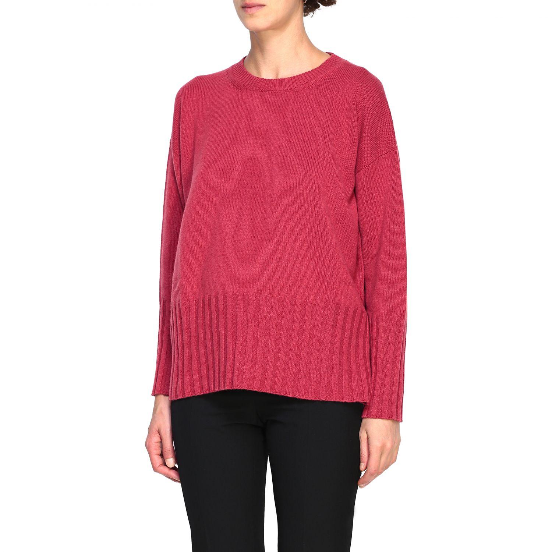 Sweater women Peserico amaranth 4