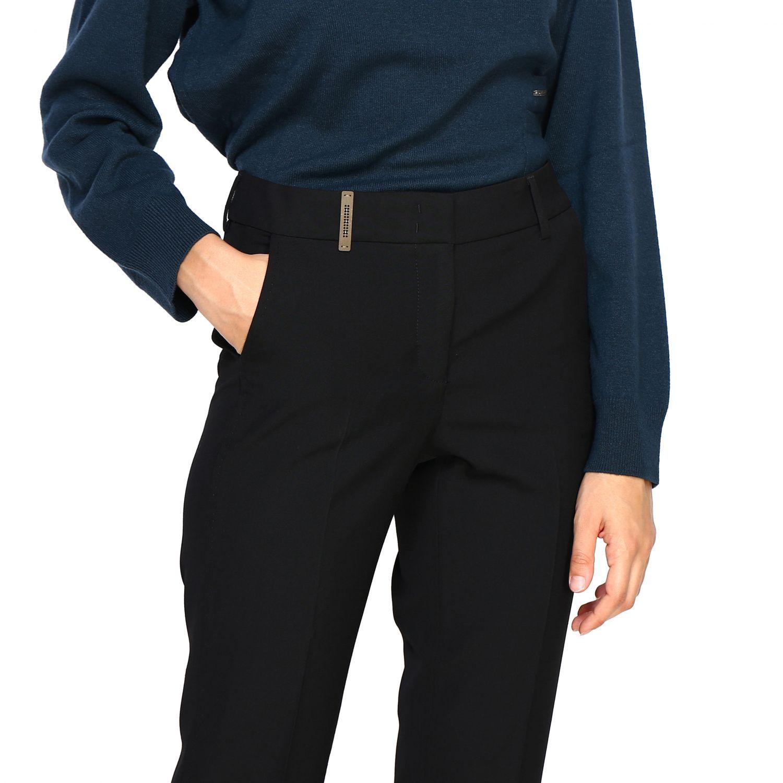 Pantalone Peserico: Pantalone donna Peserico nero 5
