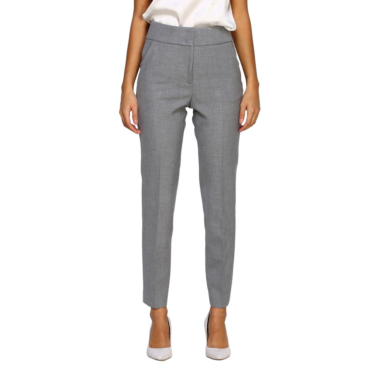 Pants women Peserico grey 1