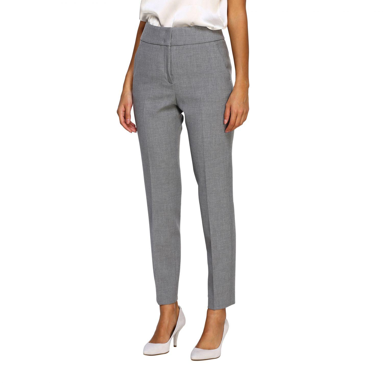 Pants women Peserico grey 4