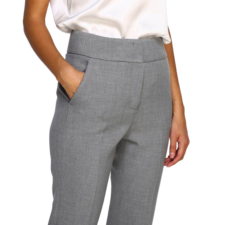 Pants women Peserico grey 5