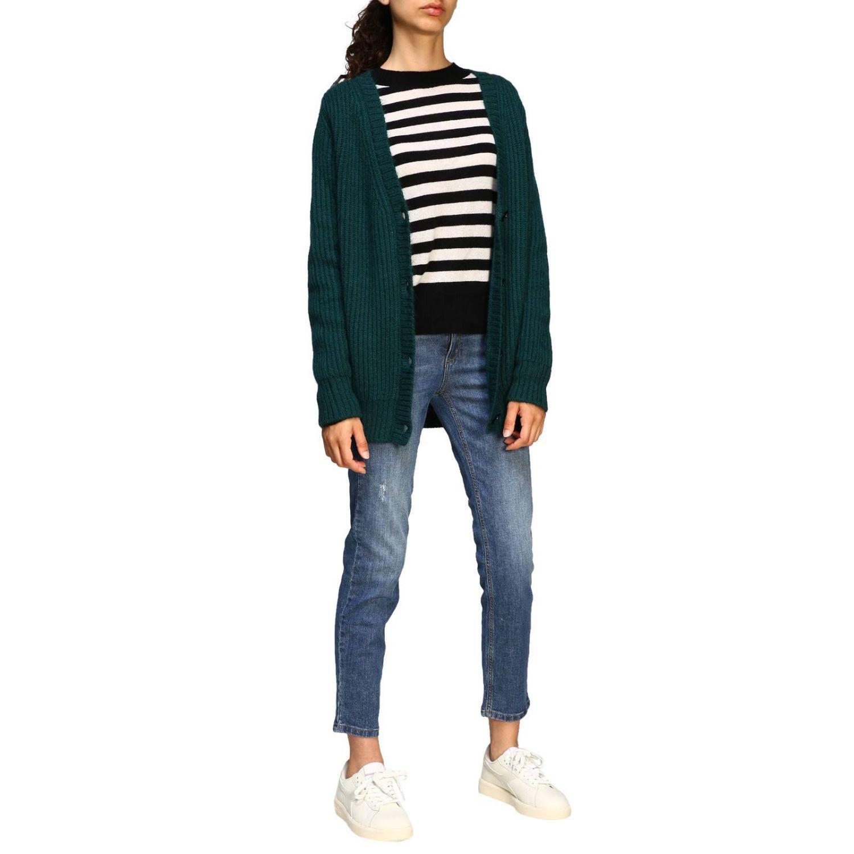 Sweater women MomonÌ green 2