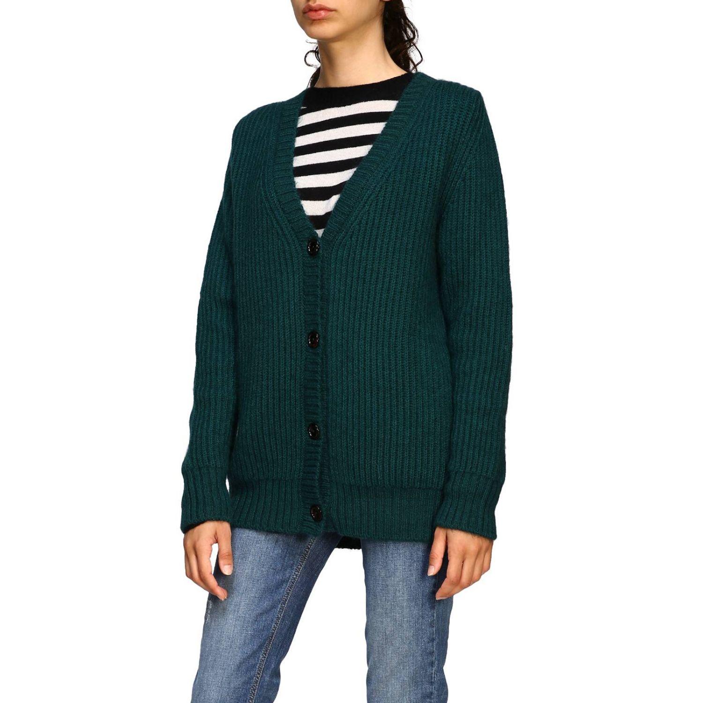 Sweater women MomonÌ green 4