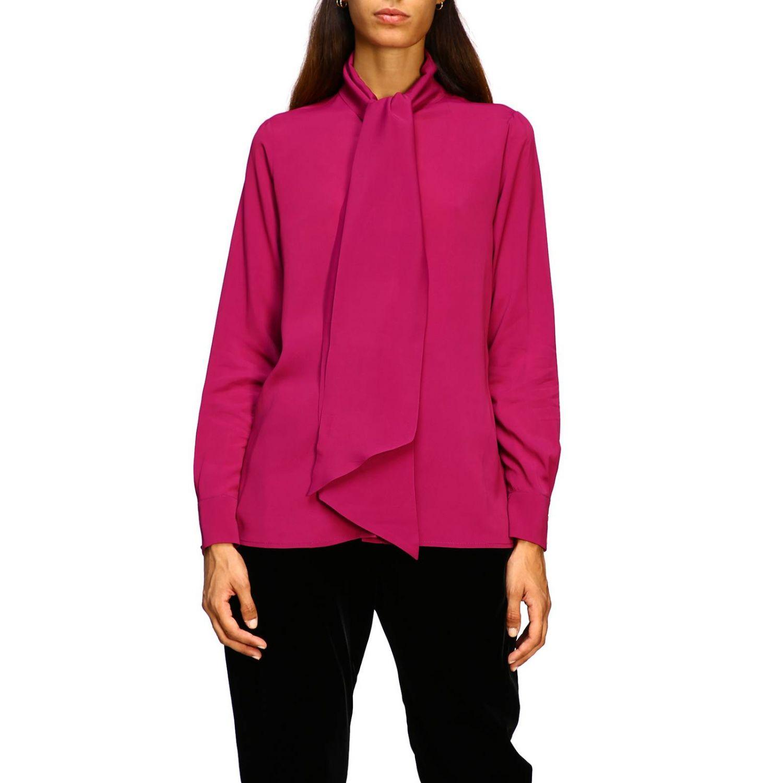 衬衫 女士 MomonÌ 紫色 1