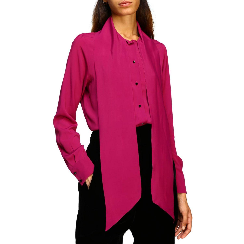 衬衫 女士 MomonÌ 紫色 5