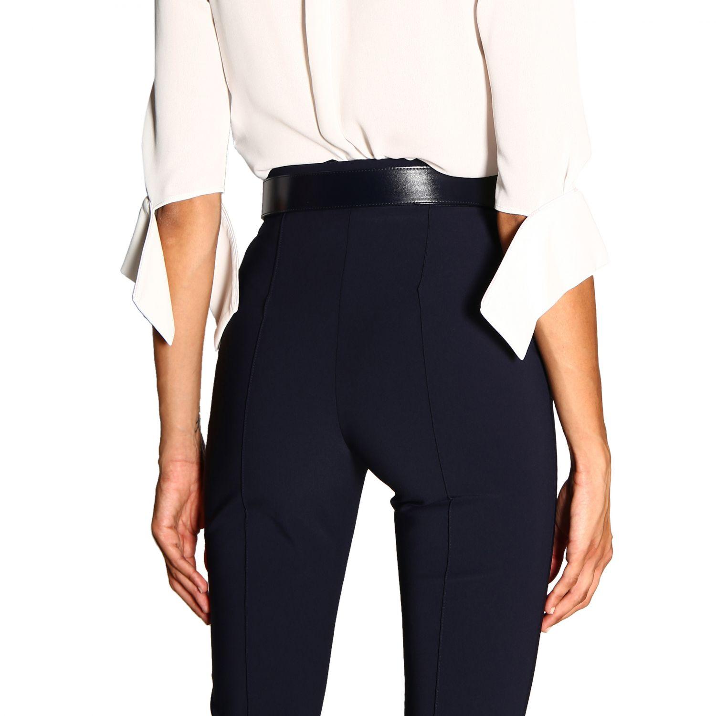 Боди Elisabetta Franchi: Рубашка Женское Elisabetta Franchi слоновая кость 4