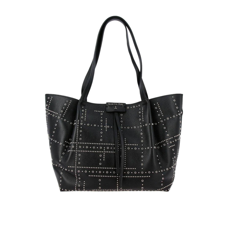 Mini bag women Patrizia Pepe black 1